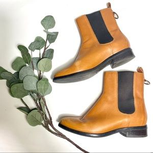Cole Haan   Leather Nike Air Evan Chelsea Boots